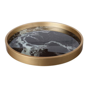 Decorative Tray (41007-BLACK)