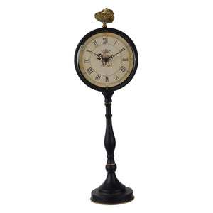 Clock - Lavonia Pedestal Table Clock - Tall (AB-41824)