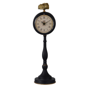 Clock - Lavonia Pedestal Table Clock - Tall (AB-41826)