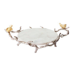AB-42855 Alvada Decorative Marble Tray