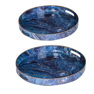 Decorative Tray Set of 2 (44046)