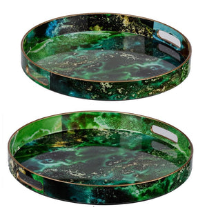 Decorative Tray Set of 2 (44049)