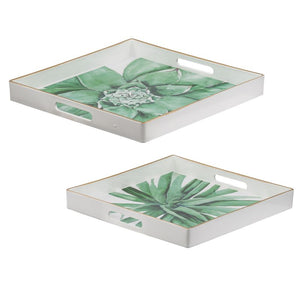 Decorative Tray Set of 2 (44095)
