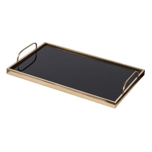 AB-44130 Chic Gold And Black Tray