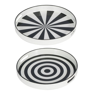 Decorative Tray Set of 2 (44277)