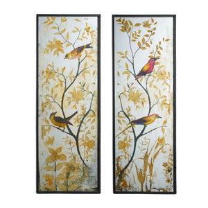 Wall Decoratives - Wall Art Set of 2 (44803)
