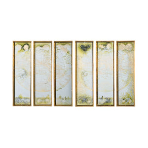 Wall Decoratives - Wall Art Set of 6 (45110)