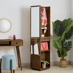 AMERICANA Standing Dresser with Tall Mirror (WIL-4788)