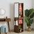 AMERICANA Solid Wood Standing Dresser with Tall Mirror (WIL-4788)
