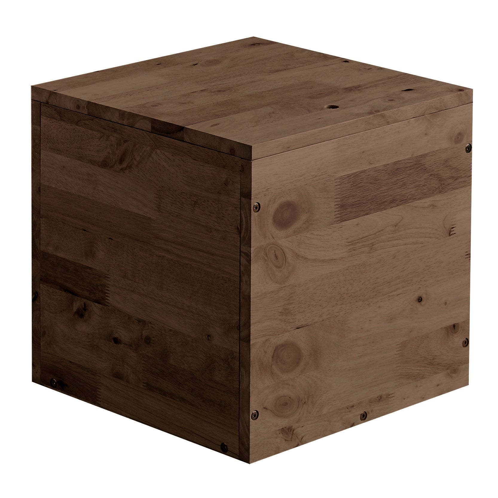 AMERICANA Solid Wood Tatami Square Side Cabinet Storage Box for Tatami (WIL-5155-2)