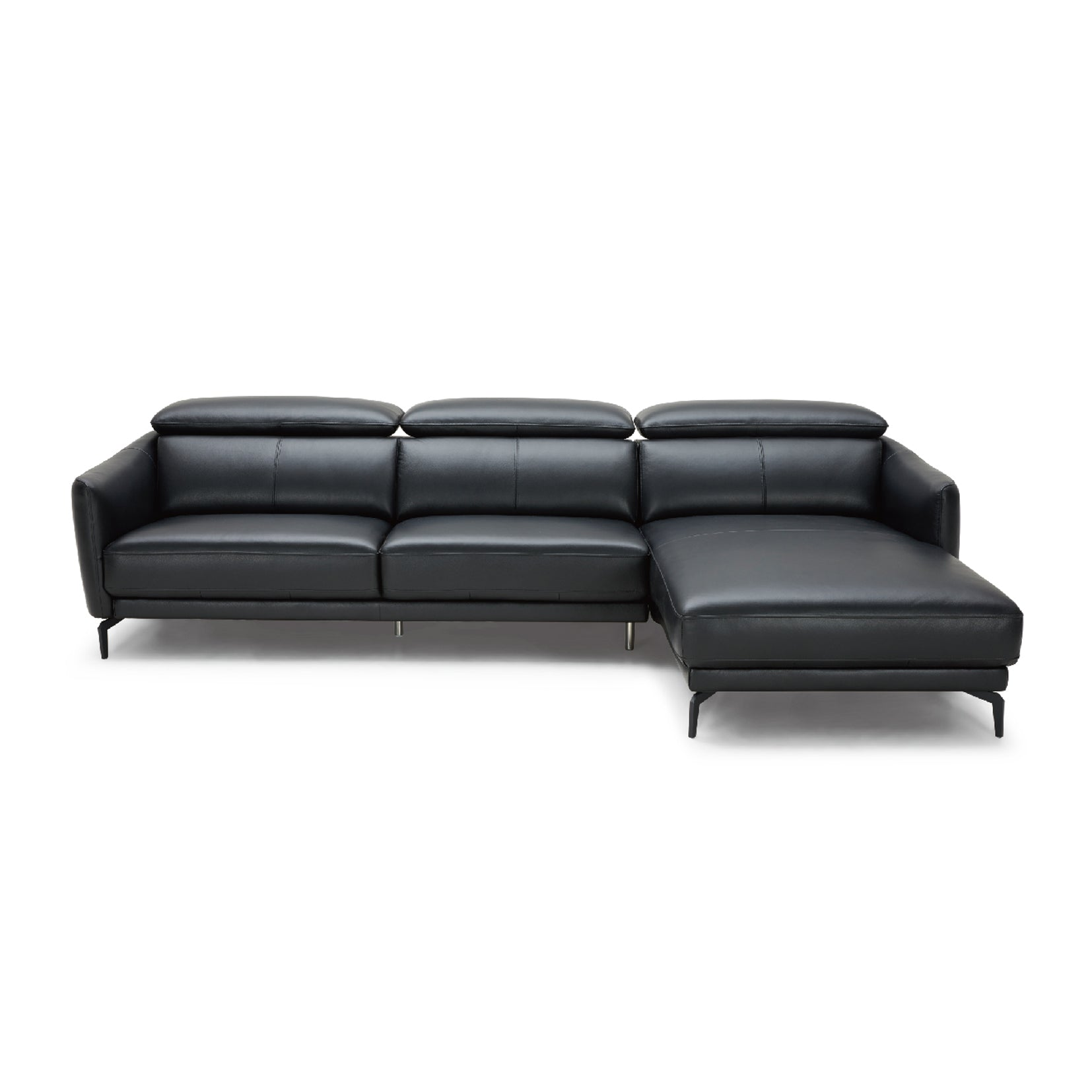 Groovy Kuka 5359 Leather Sofa 1 2 3 Seater Ottoman Chaise Dailytribune Chair Design For Home Dailytribuneorg