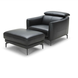 KUKA #5359 Full Leather Sofa (L shape Chaise Lounge) ( M Series ) (I)