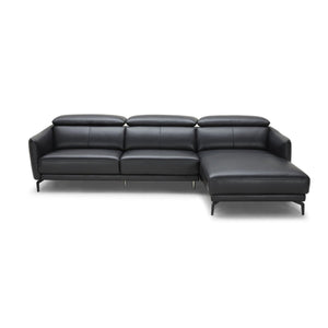 KUKA #5359 Half Leather Sofa (L shape Chaise Lounge) ( M Series ) (I) - Picket&Rail