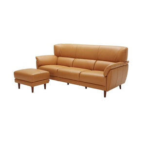 KUKA #5371 Leather Sofa (1/2/3-Seater, Ottoman) - Picket&Rail Singapore's Premium Furniture Retailer