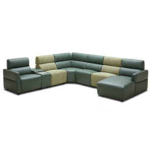 KUKA #5590 Half Leather Sofa (1/2/3-Seater/ Modular)( M1 Series ) (I)