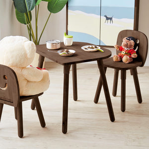 SMILEY Kids Table Col: Hermes Walnut (WIL-6521T)