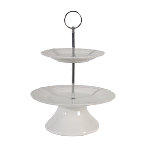 AB-69002  2-Tiered Candy Dish