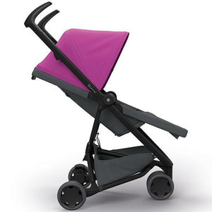 Quinny Zapp Flex Stroller - Pink on Graphite QN1399381000