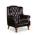 ROCHESTER  #9026 Wing Chair Half Leather Sofa (I)