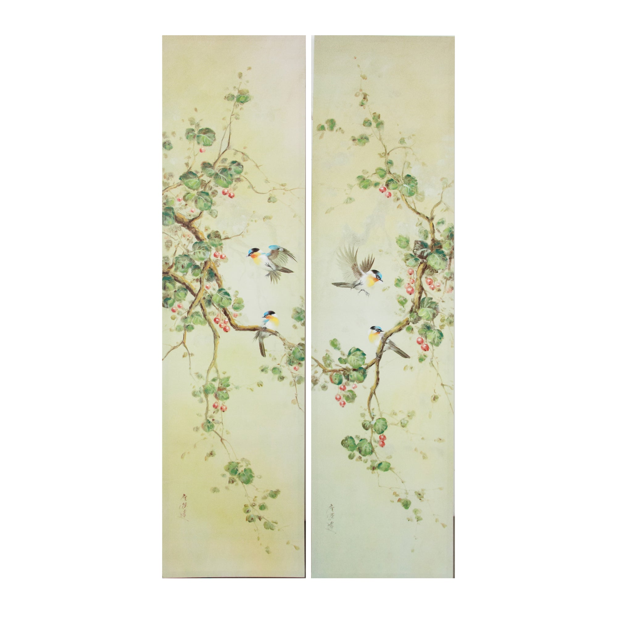 "AB-AV37681 S/2 15.8x1.5x59"" Wall Art - Picket&Rail"