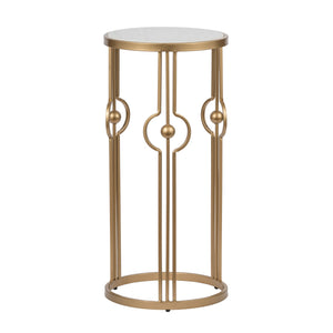 AB-AV44588-DS Marble and Brass Table