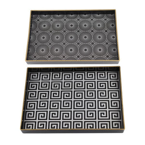 Decorative Tray Set of 2 (AV48721-DS)