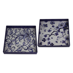 Decorative Tray Set of 2 (AV48724-DS)