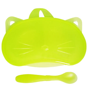 Bonbijou Easy Grip Feeding Bowl with Spoon - Bonbijou