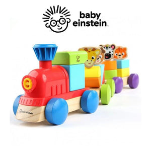 Baby Einstein HAPE Discovery Train Wooden Toy BE11715