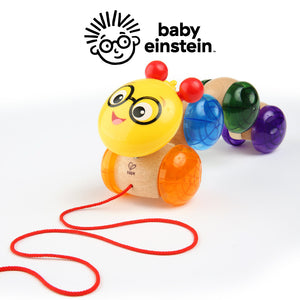 Baby Einstein HAPE Inch Along Cal Wooden Pull Toy BE11655