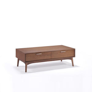 Barbara Coffee Table (Walnut) - Picket&Rail Singapore's Premium Furniture Retailer