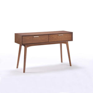 Barbara Console Table (Walnut/White Oak) - Picket&Rail Singapore's Premium Furniture Retailer