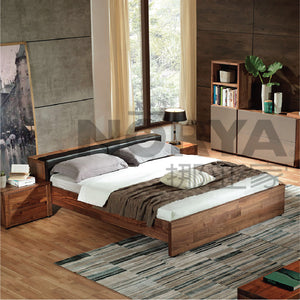 Norya D5-02 Bed - Picket&Rail Singapore's Premium Furniture Retailer