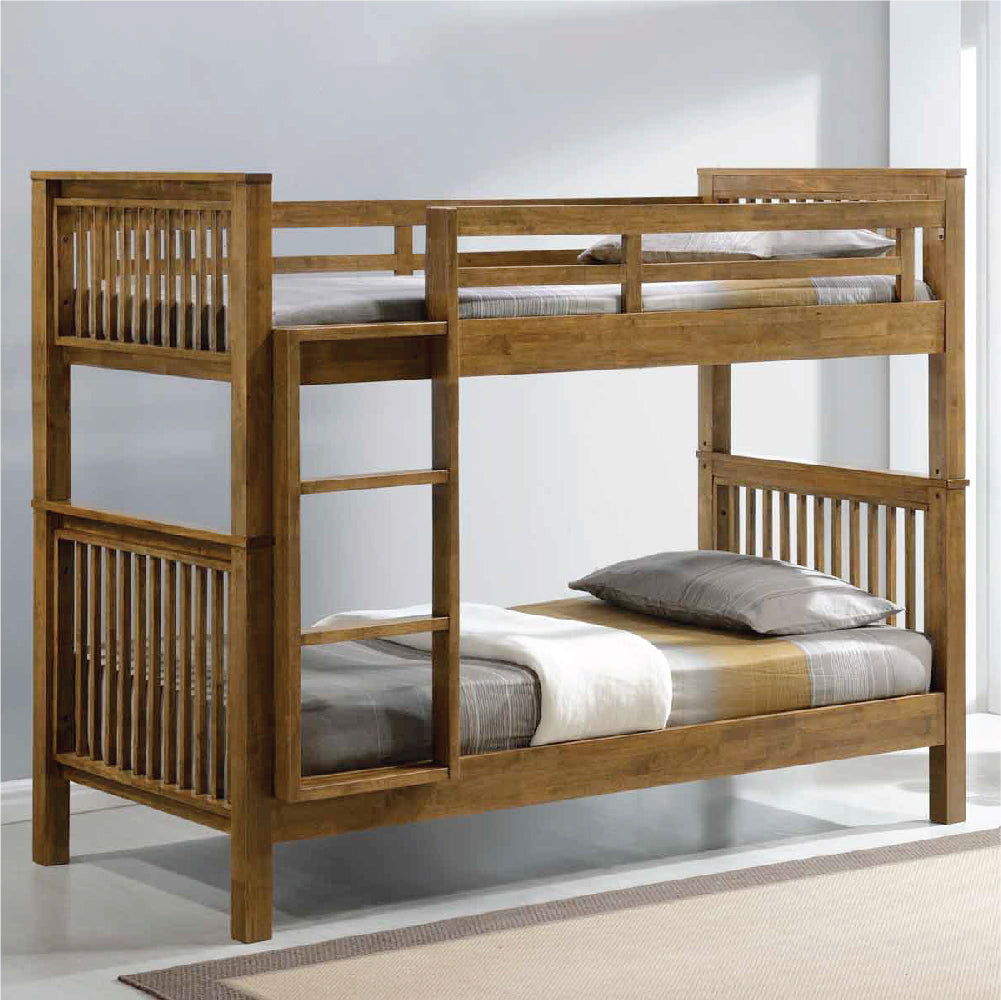 All Solid Wood Bunk Beds