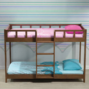 BROOKLYN Solid Wood Single Low Bunk Bed - Picket&Rail Singapore's Premium Furniture Retailer