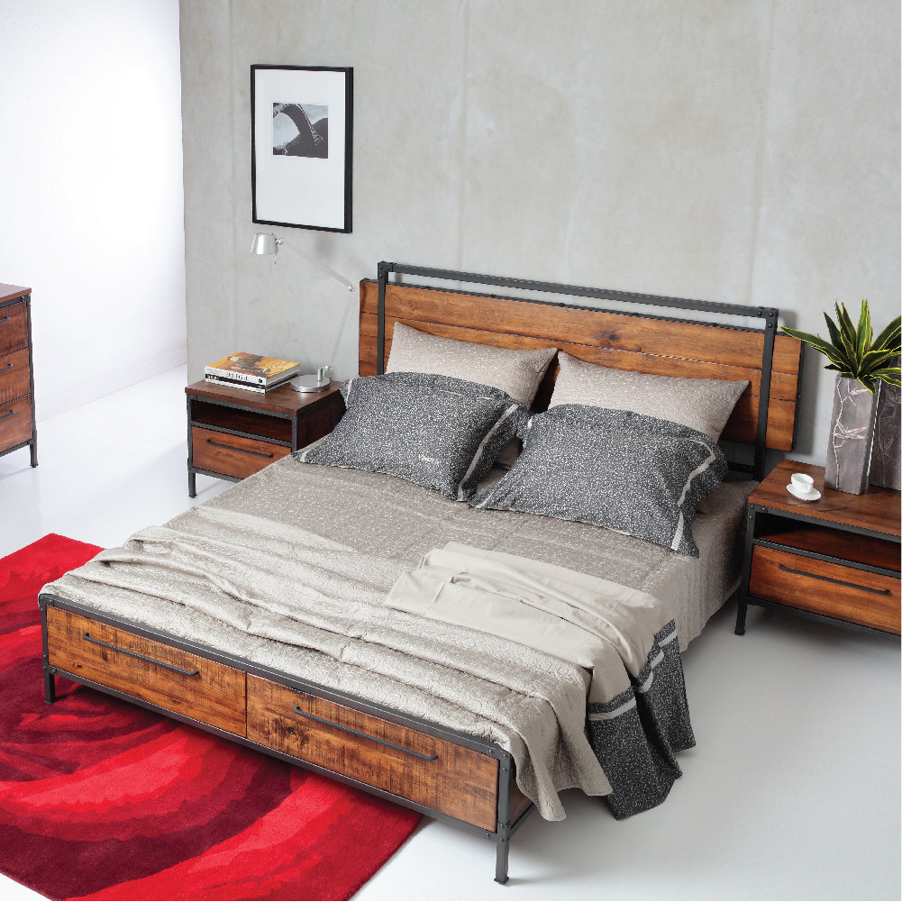 Picketrail Solid Wood Bedroom Furniture At City Square Mall
