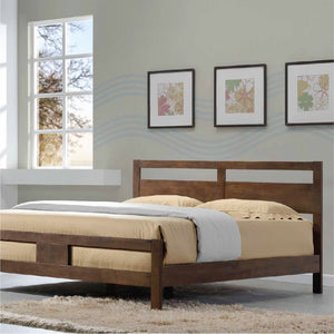 New Jersey VIII Solid Wood Queen Bed - Picket&Rail Singapore's Premium Furniture Retailer