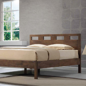 ASHTON Solid Wood King Bed - Picket&Rail Singapore's Premium Furniture Retailer