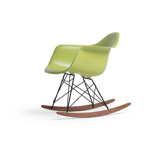 Maja Fiberglass Rocking Chair - Lime Green (CH16135) - Picket&Rail Singapore's Premium Furniture Retailer