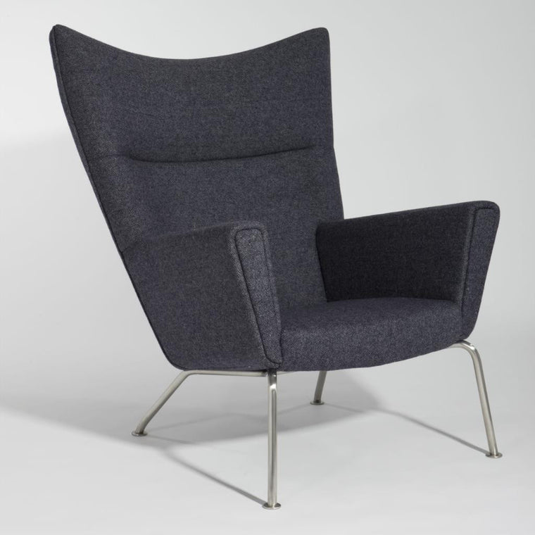 Cullen Lounge Chair(Leather) - CH8308 - Picket&Rail Singapore's Premium Furniture Retailer