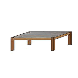 NORYA Coffee Table (1.4m) in American Black Walnut KAZFB01C