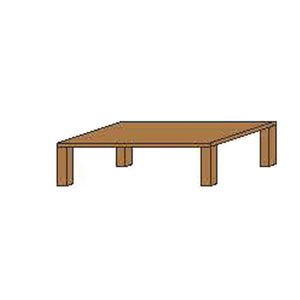 NORYA Coffee Table (1.4m) in American Black Walnut KAZFM03