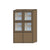 NORYA High Cabinet (1.2m) in European Dark Oak TAS91201