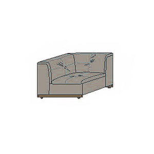 NORYA Sofa (0.9m) in European Dark Oak TSF071N-D