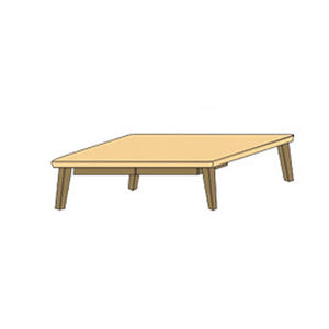 NORYA Coffee Table (1.4m) in German White Oak XBFM05 - Picket&Rail
