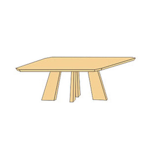NORYA Dining Table (1.6m) in German White Oak XBTL03