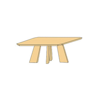 NORYA Dining Table (1.4m) in German White Oak XBTL04