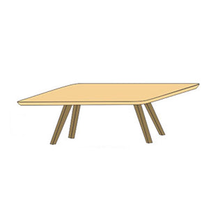 NORYA Dining Table (2.2m) in German White Oak XBTV01