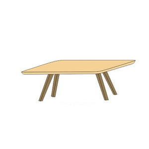 NORYA Dining Table (1.8m) in German White Oak XBTV02