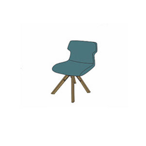 NORYA Dining Chair (0.5m) in German White Oak X6Z56-A